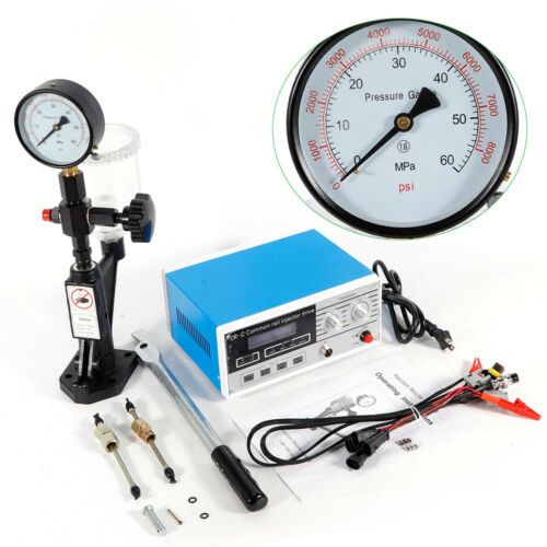 Full Set Multi-function CR-C Diesel Common Rail Injector Tester+S60H Fuel Nozzle