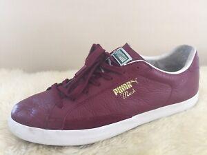 Puma Match Vulc Men's Burgandy Fashion