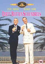 DIRTY ROTTEN SCOUNDRELS - DVD - REGION 2 UK