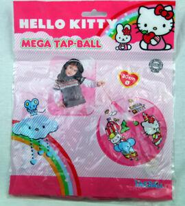 4x Hello Kitty Mega Tap-ball Aufblasball Wasserball ca 30cm
