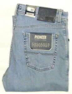 PIONEER-W-42-L-30-Stretch-Jeans-RANDO-hell-1680-9892-08-3-Wahl-Arbeitshose