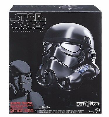 Shadow Trooper Voice Changer Helmet Star Wars: The Black Series Battlefront
