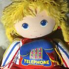 """American Greetings AMTOY Vintage 1984 Teach & Play Kids Doll 18"""" Cookie  Bear"""