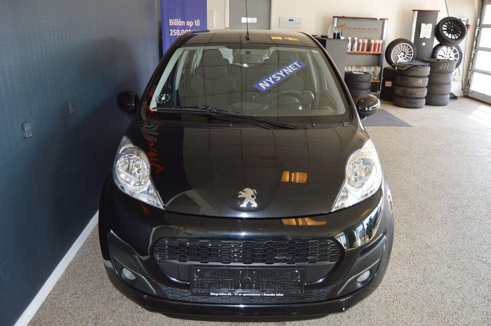 Peugeot 107 1,0 Champion Air Benzin modelår 2014 km 58000