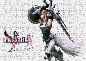 Final Fantasy XIII-2 Lightning Returns A4 Puzzle - 120