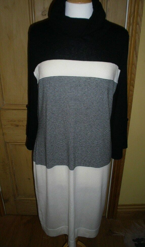 ESCADA SPORT DESIGNER DRESS, Größe LARGE, CASHMERE LAMBSWOOL MIX, VERSATILE USE