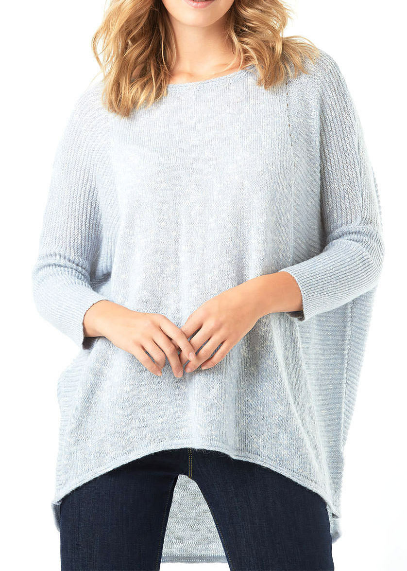 PHASE EIGHT WOMENS 'AIDEEN-JANE' KNITTED JUMPER IN SOFT blueE blueE blueE -SMALL  b1f16d