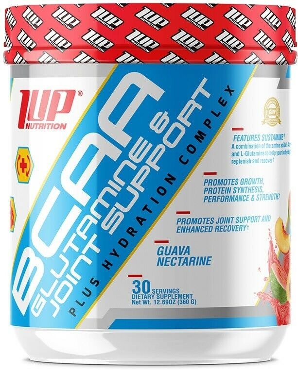 1Up Nutrition  His BCAA's Glutamine & Joint Support Plus Hydration Complex  Free