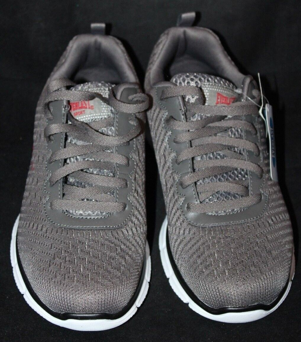 6b8d5ee8bfdf Everlast Sport Men s Eve Score Grey Athletic Athletic Athletic Sport Shoes  Size 8 Medium 5343f8