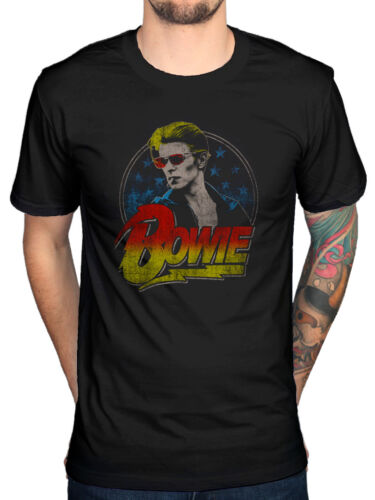 Official David Bowie Smoking Graphic NEW T-Shirt R.I.P Legend Jagger John Queen