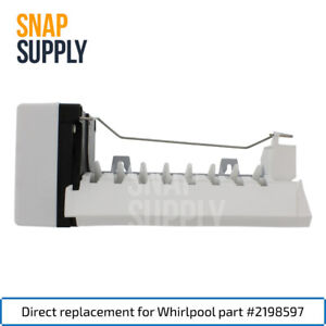 Snap-Supply-Ice-Maker-for-Whirlpool-Directly-Replaces-Part-2198597