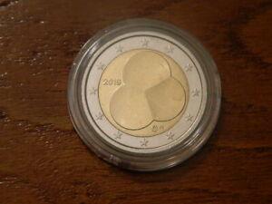 Finnland-2019-2-Euro-BU-Gedenkmuenze-CC-coin-GOOD-CONDITION-fr-Finland-CAPSULE