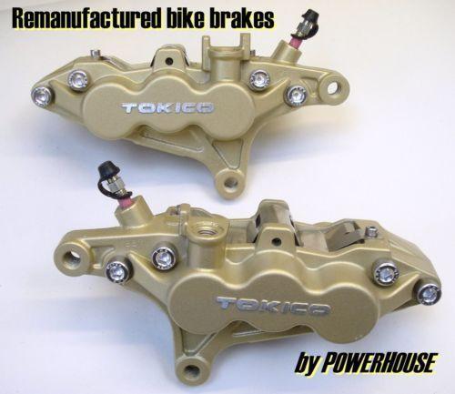 Kawasaki ZRX 1200 S front brake caliper refurbishment service 2003 2004