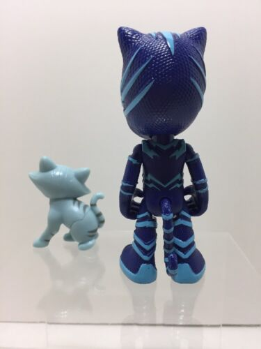 NEW Disney Collectible PJ Mask CATBOY CONNOR and CAT Character Hero Figure Toy
