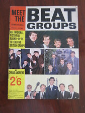 Meet the Beat Groups Uk 1964 Beatles Stones Hollies Johnny Kidd Big Three Heinz