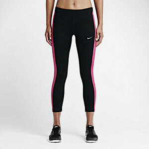 Discount Women Nike Essential 667623-017 Black Vivid Pink For Sale