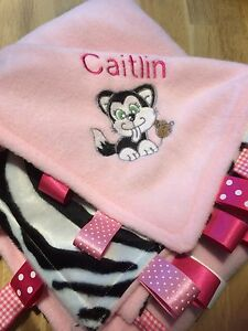 XL PERSONALISED PIRATE COT//PRAM TAGGY BLANKET//GIFT//BOY