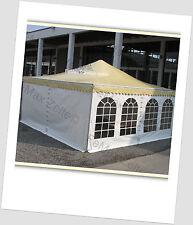 Pavillon Partyzelt Festzelt Profizelt für Vermietung etc. 4x4m / Traufe: 2,25m