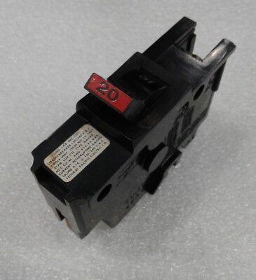 Federal Pacific FPE Stab Lok Thin 1 Pole 20 Amp 120V Breaker