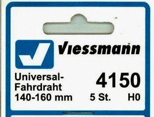 Viessmann-4150-Catenary-H0-HO-Universal-Running-Wire-140-160mm-5pc