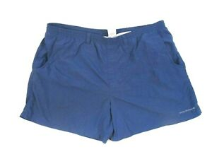 935f89f6e3e46 Columbia PFG Omni Shield Swim Trunks Bathing Suit Nylon 2XL Blue ...