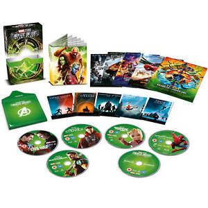 Universo-Marvel-cinematografica-fase-tres-3-Blu-ray-Edicion-Coleccionista-Juego-de-pelicula