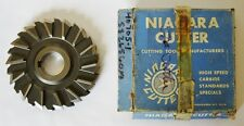 """NIAGARA USA 6"""" HSS Staggered Tooth Side Mill Cutter 3/4"""" Width 1-1/2"""" Hole"""
