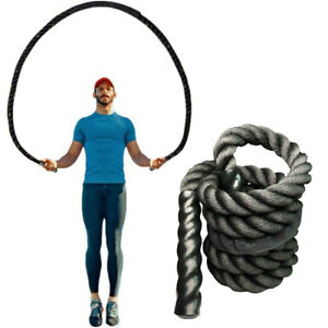 25mm-Fitness-Heavy-Jump-Rope-Crossfit-Weighted-Battle-Skipping-Ropes-Power-Slimm