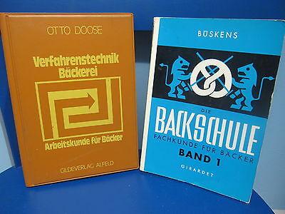 Bäckerei Handwerk - 2 Fachbücher, Büskens - Die Backschule Band 1 Exquisite Traditionelle Stickkunst