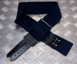 Genuine-British-Royal-Navy-RN-Blue-Stable-Belt-Adjustable-Brand-NEW