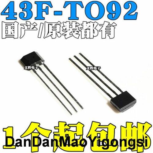 43F 43AF SS443F DH43F YS43F Hall sensor SS43F SS443A line TO92