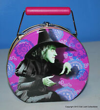 Are You a Good Witch or Bad Witch Wizard of Oz Lunch Tin NEW cond 1999
