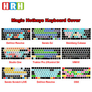Details about Hotkeys Keyboard Cover Silicone Skin Protector For Apple  Magic Keyboard MLA22B/A