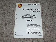 1984 Porsche 911 Carrera Body Damage Service Repair Manual 1985 1986 1987 1988