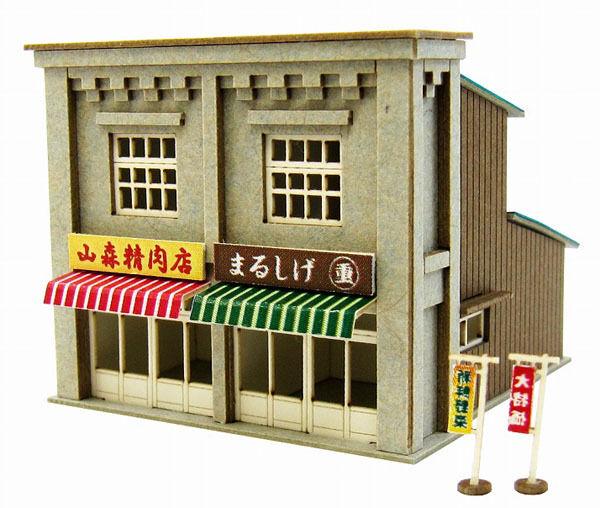 Sankei MP01-123 Japanese Store D 1/220 Z scale