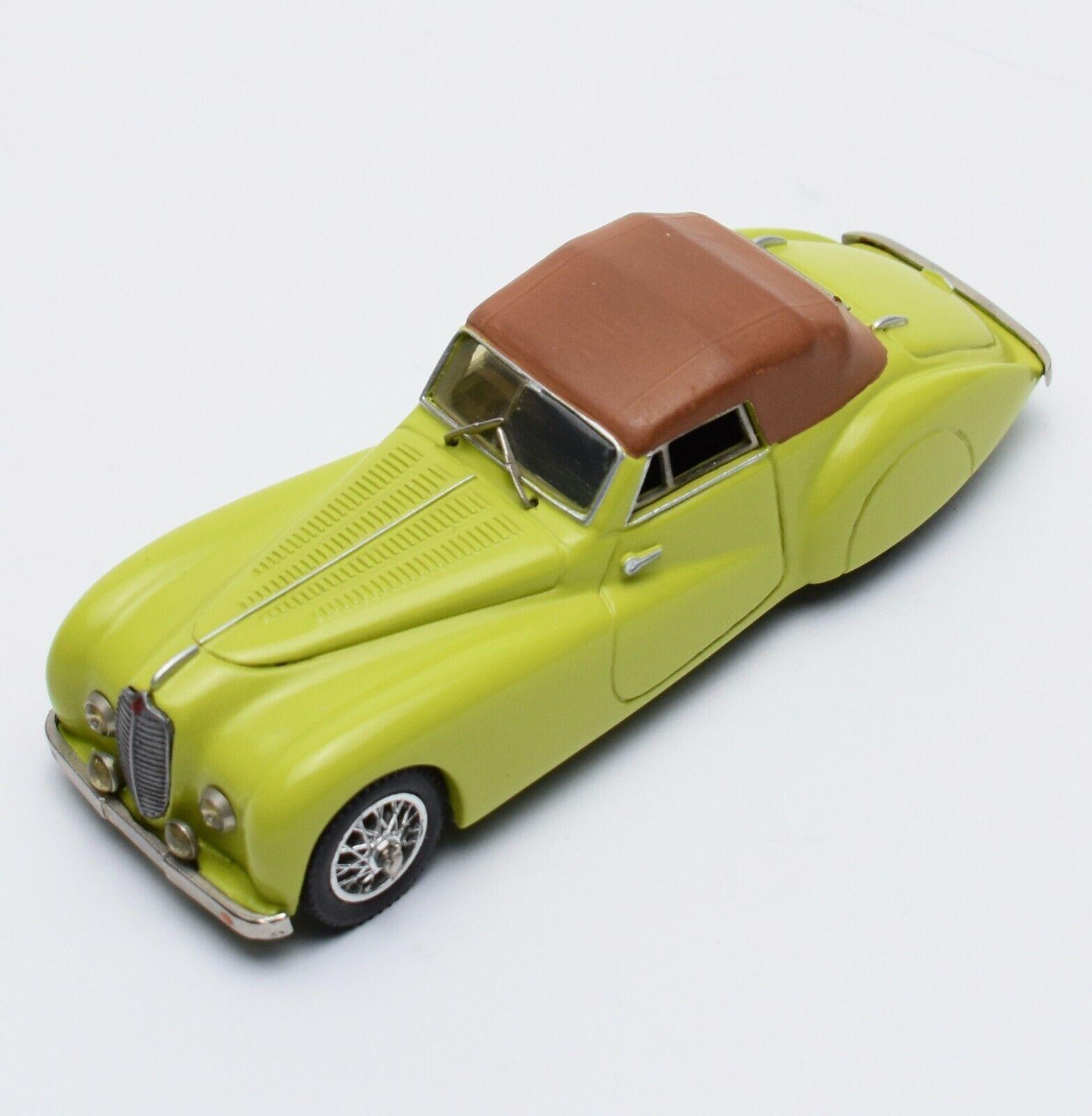 Belle Epoque Rarität Delahaye 135 MS Cabriolet Bj.1948 in green, 1 43 , V007