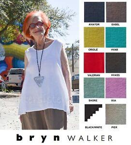 BRYN-WALKER-Light-Linen-HUXLEY-TANK-Swing-Top-Tunic-XS-S-M-L-XL-SPRING-2018