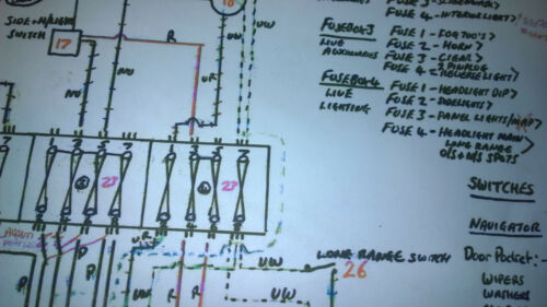Clic Mini Fuse Box - Schema Wiring Diagrams Range Rover Clic Wiring Harness Diagram on