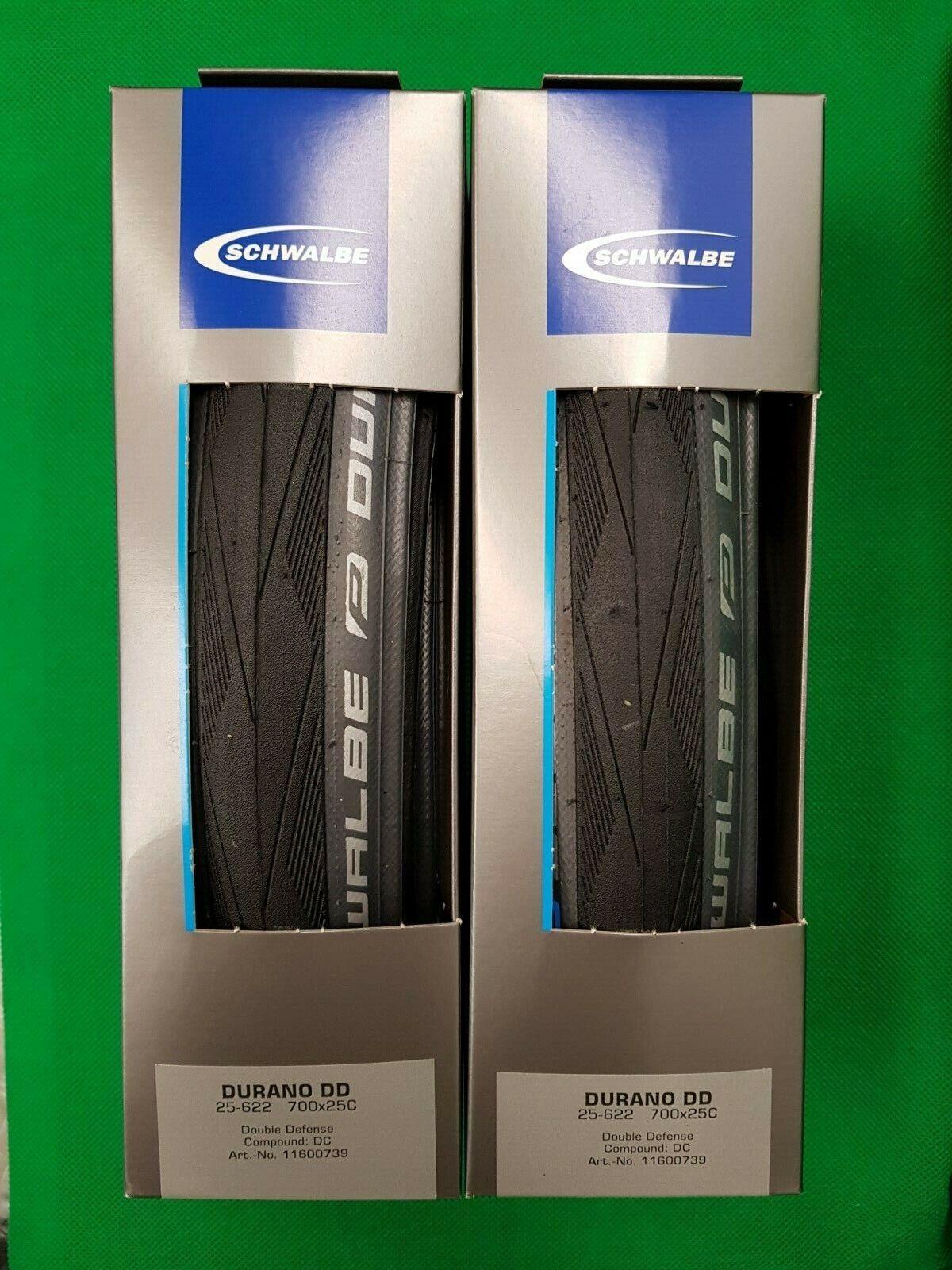 Schwalbe Durano DD 700x25c  Folding Tyres (x2)  fitness retailer