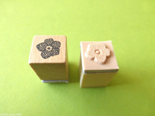 Motivstempel Stempel  Blume #1  Stamping  ca:15x15mm Kartengestaltung Basteln