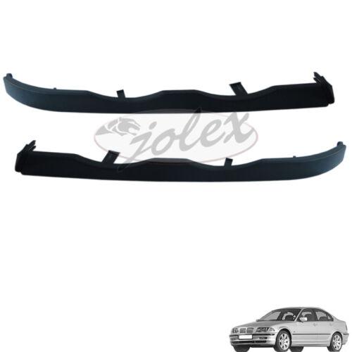 Scheinwerferblende Blende rechts+links Paar unter Scheinwerfer BMW 3er E46 98-01
