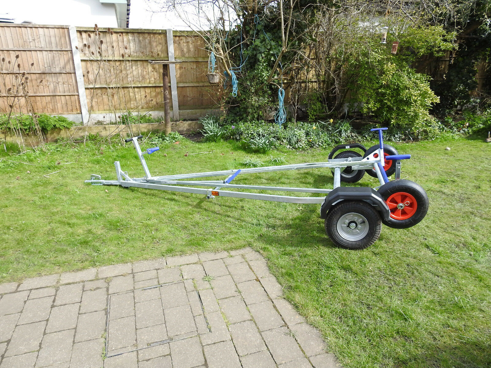Laser 1 Combination road trailer. New. Trident