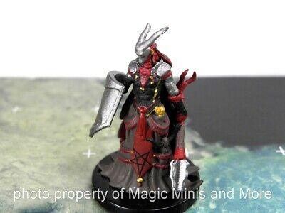 Fire Diabolist Deadly Foes #35 Pathfinder Battles D/&D Rare Miniature