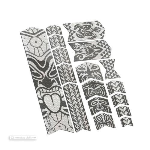 Riesel Design Bande 3000 Frameguard Vélo de montagne cadre protection stickers Maori