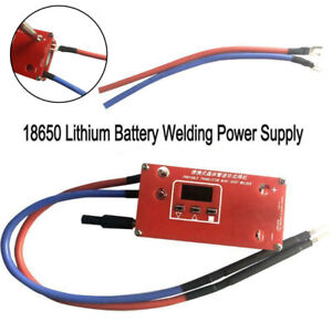 Mini Spot Welder Machine 18650 Battery Various Welding Power Supply DIY Portable