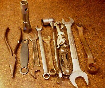 Vintage GLOBEMASTER Pipe Wrench W. Germany Adjustable 11.5