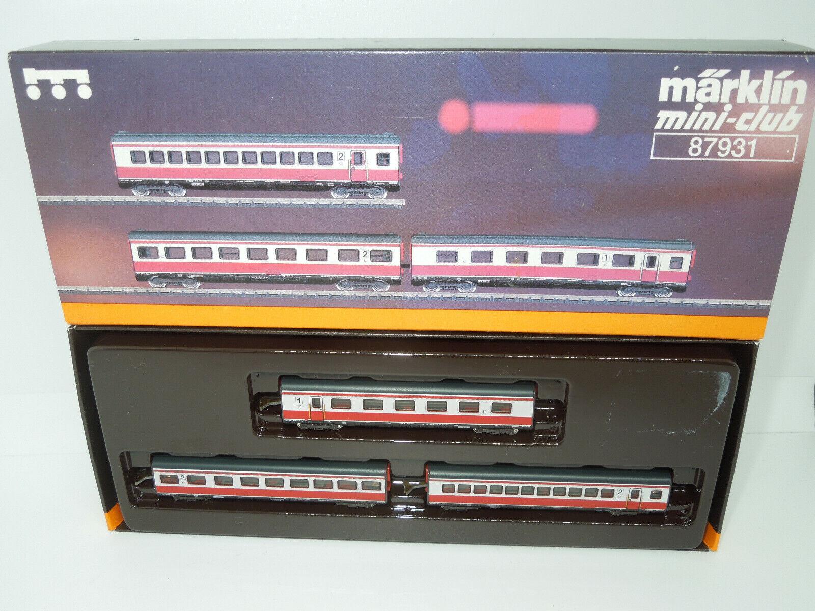 marklin mini-club 87931 87931 87931 tè MAX Lieruomon tra Wagenset 3 pezzi 76b930