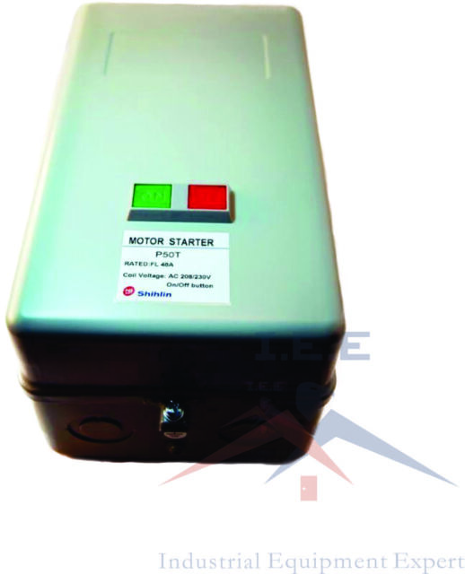 230V 7.5 HP Single Phase Magnetic Starter Motor Control Shihlin P40TPB 40 Amp