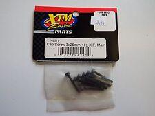 XTM Racing Parts - Cap Screw 3x25mm (10 pcs) X-F, Mam - Model # 148511 - Box 2