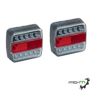 3-Kammerleuchte-LED-Rueckleuchte-Heckleuchte-Anhaenger-2er-Set